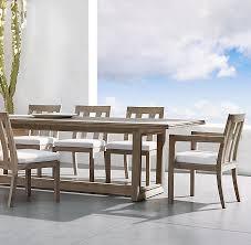 costa teak rectangular dining table