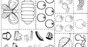 Caterpillar Coloring Pages Caterpillar Coloring Page With Hungry