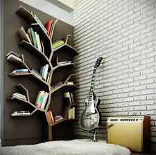 Music room decor ideas with white bricks wall