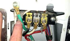 3 wire range outlet myfifa wiring diagram 3 wire dryer outlet unique 4 prong inspirational how to correctly a cord in