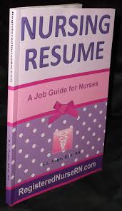 Resume Book Nursing Resume Templates Plus An EBook Job Guide For Nurses 84