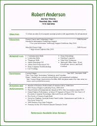 Beginner Resume Sample Unique 35 Fast Beginner Resume Examples Si A