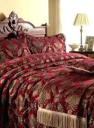 red velvet comforter set black velvet bed
