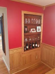 Dining Room Wainscoting Ideas Oak Wainscoting Wood Wainscoting Stained Pinterest