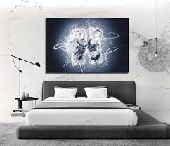 Charming CANVAS ART Sensual Bedroom Art Contemporary Abstract Canvas