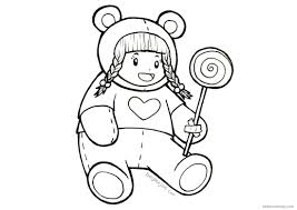Baylee Jae Coloring Pages Lollipop Free Printable Coloring Pages