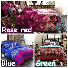 elephant comforter set queen wish bohemian bedding set elephant printed bedding bedspread bedclothes duvet cover set