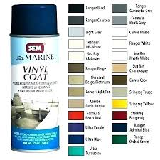 Sem Marine Vinyl Coat Color Chart Sem Fabric Dye Charter Meaning In Color Coat Paint Chart