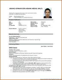 Resume Template Resume Format Pdf Free Career Resume Template