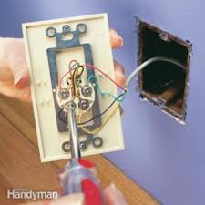 how to rewire a lamp the family handyman replace a phone jack and phone jack wiring