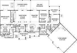 floor plans for house plan 106 1283