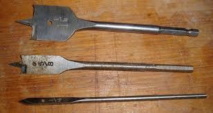 spade bits. file:spade bits.jpg spade bits