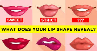 diffe lip shapes