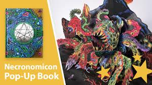 skinners necronomicon pop up book