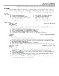 Server Resume Templates Beauteous Template Restaurant Resume Templates Free Server For Servers