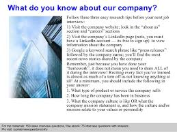 Interview Checklist     Research the company    Know who you re meeting