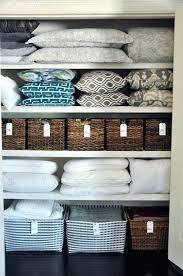 hall closet organization ideas and storage