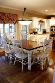 dining room white dining table with dark wood top kitchen table and chairs set redoing