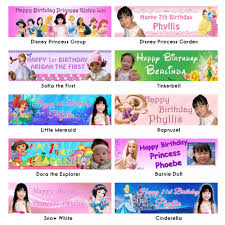happy birthday customized banners customized photo banner suits any theme any event kidz