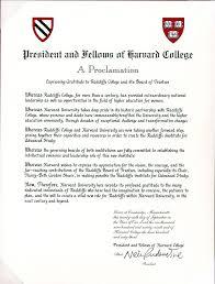 Elegant Harvard Acceptance Letter   Cover Letter Examples