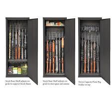Stock On Gun Cabinet Agile Model 52 Gun Cabinet Secureit Gun Storage