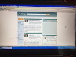 Picture of Netscape Navigator 9 on my windows 10 pc (skinned like windows  xp) : netscape