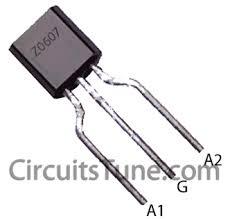 ceiling fan regulator circuit motor speed controller circuitstune z0607 triac pin diagram