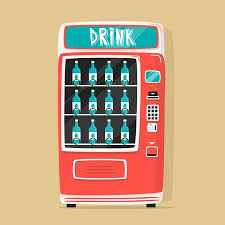 Old Vending Machine Hack Cool Vintage Vending Machine With Drinks Retro Cartoon Style Vector