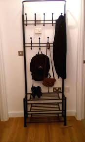 Shoe And Coat Rack Enchanting Coat Rack With Shoe Rack Wannacryransomwareco