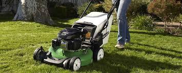 lawn boy riding lawn mower. lawn boy riding mower
