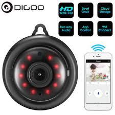 Digoo Smart WiFi Baby Monitor IP Camera Two-way Audio IR Night ...