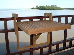 railing table com interbuild stockholm adjule folding balcony deck