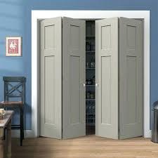 interior bifold closet doors custom closet door shaker