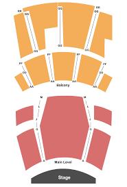 Bing Crosby Theater Seating Chart Spokane
