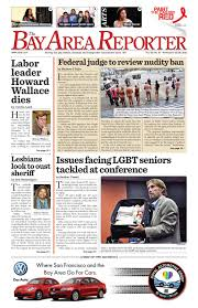November 22 2012 editon of the Bay Area Reporter by Bay Area.