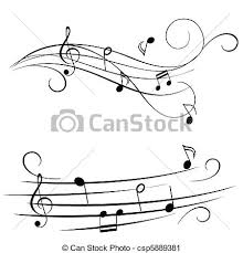 Stave Music Melody On Stave
