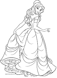 Small Picture Beauty And The Beast Coloring Pages Coloring Pages Pinterest