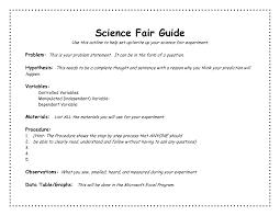 Science Fair Powerpoint Templates Science Fair Project Template Outline Academic Outreach