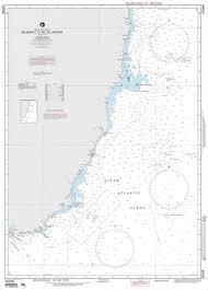 Nga Nautical Chart 24008 Belmonte To Rio De Janeiro Brazil East Coast