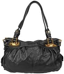 open box b makowsky black leather per bag bm13915 bk