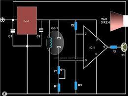 smoke detector circuit gas sensor tgs813 smoke detector