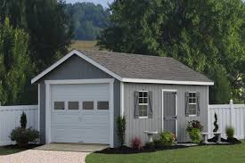 A Classic Single Car Garage In Wood  From PA For Over Twenty Outdoor Garage Design