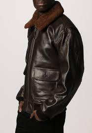 schott made in usa men jackets g1s leather jacket brown schott nyc cargo
