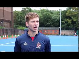 Ollie Payne's First Camera Interview With GB Hockey - YouTube