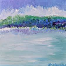 tropic mint 8 x 8 contemporary paintings by missy vanover original paintings