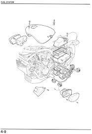 vf700c shop manual fuel system diagram · troubleshooting · carburetor removal