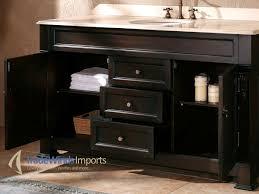 single bathroom vanities ideas. Fetching Double Sink Bathroom Vanity For Your Design : Outstanding Ideas With Black Single Vanities .