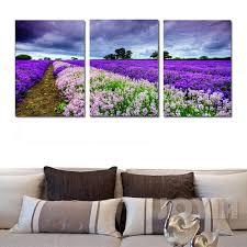 lavender wall art