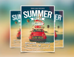 Summer Party Flyers Summer Flyer Template Party Flyers Designs Graphicfy