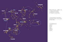Constellation Chart Constellation Chart